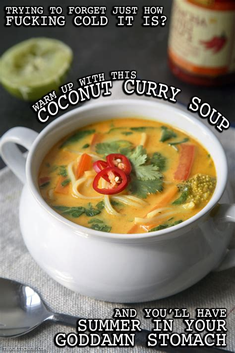 coconut curry soup thug kitchen