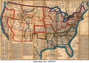 united states civil war map stock photos united states
