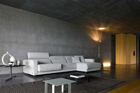 betonwand wohnzimmer 25 captivating living room designs with concrete wall rilane