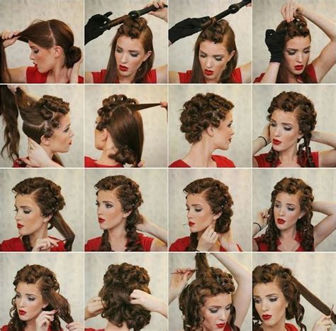 How To Do Vintage Hairstyles by Vintage Hairstyles How To Do Vintage Hairstyles