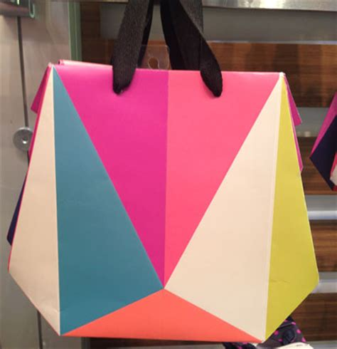Origami Paper Bags - direct from market housewares show 2015 gifts dec