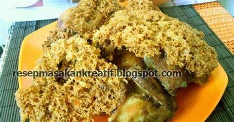cara membuat kaldu ayam yg gurih resep ayam kremes goreng gurih renyah spesial aneka