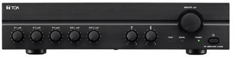 Mixer Pre Lifier Toa toa a2120 a2240 mixer lifier audio visual specialists