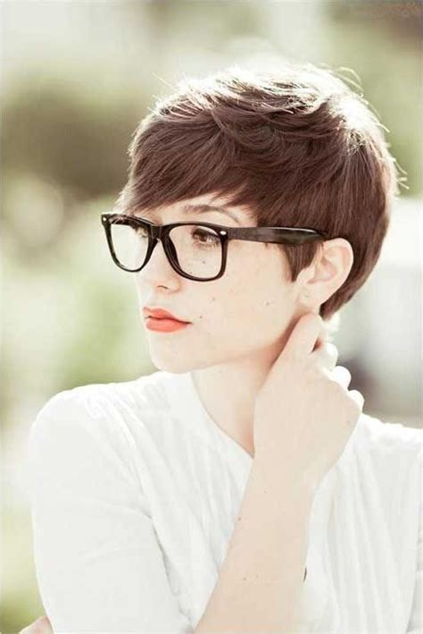 collection  short haircuts  women  glasses