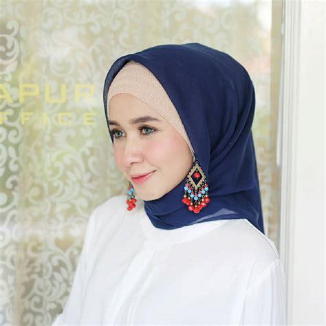 Manik Manik Bakpao 6mm anting etnik wajik biru muda koleksikikie