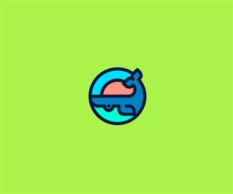 20 Whale Logos Freecreatives Cool Logo Templates