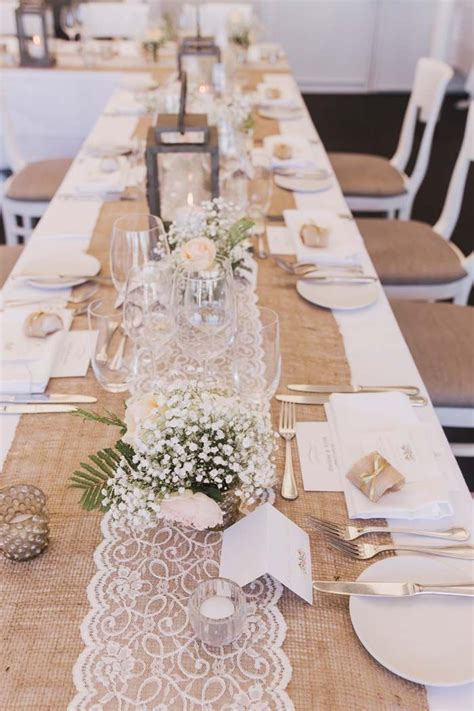 best 25 burlap table settings ideas on pinterest