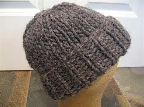 knitting pattern bulky yarn hat bulky hat 15mm needles tutorials patterns knitting