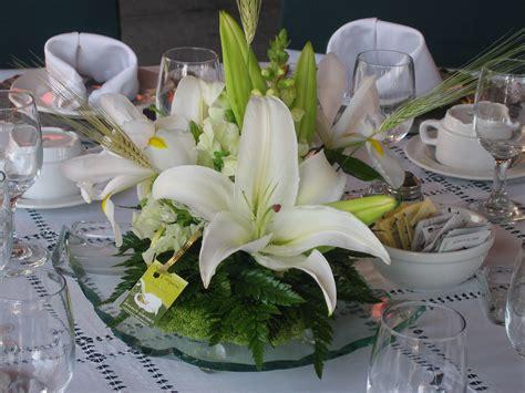 floreros de mesa para boda arreglos de flores naturales para centros de mesa imagui