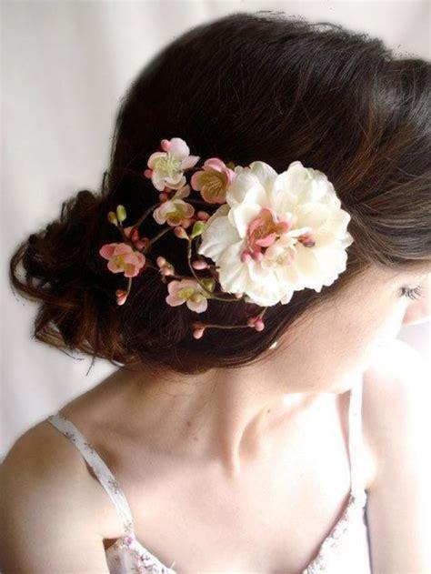 flower wedding hair clip wedding hair clip ivory flower bridal hair accessories hair accessory blush pink bridal