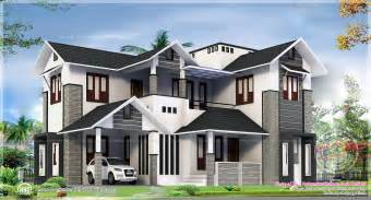 Big Home Plans 2329 Square Feel Big House Exterior Indian House Plans