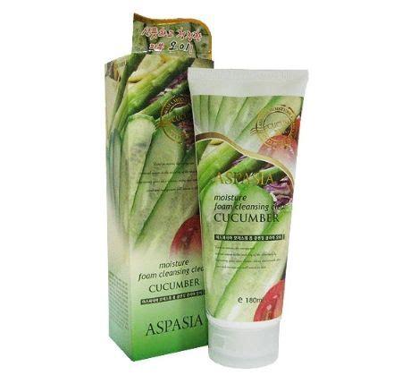 All Clear Detox by Aspasia Moisture Foam Cleansing Clear Cucumber All