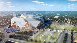 Mercedes Stadium Capacity Atlanta S Mercedes Stadium To Be Nfl S