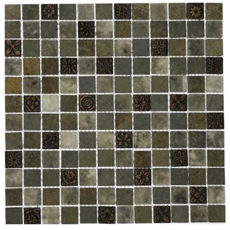 splashback tile tapestry 12 in x 12 in x 8 mm marble and