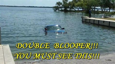 boat parking fails funny boat launch blooper fail friday the 13th sunken