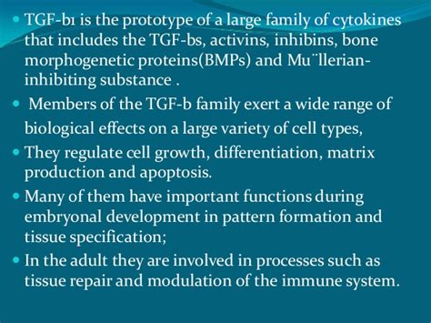 developmental pattern formation insights from physics and biology tgf β signalling from cell