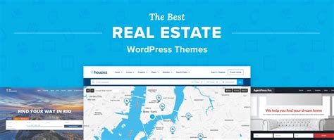 top 8 best real estate wordpress themes for agents realtors