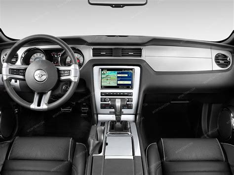 dash system 2010 2014 ford mustang dash trim kit w o navigation