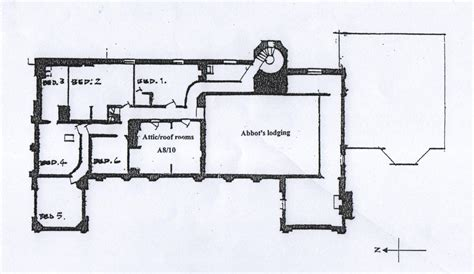 monastery floor plan north wing archives combermere abbey