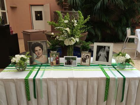 memorial table for funeral irish wake funeral ideas pinterest funeral
