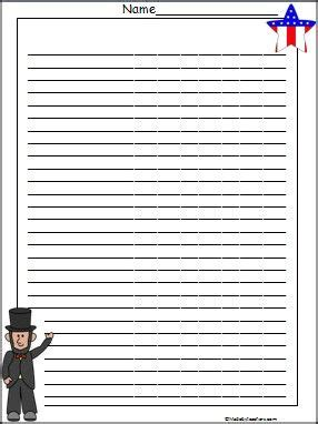 abraham lincoln printable writing paper 20 best african lion diorama project images on pinterest
