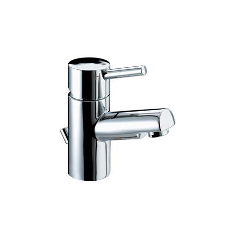 bristan prism bath shower mixer bristan taps showers prism basin mixer with eco click and pop up waste pmebasc chrome