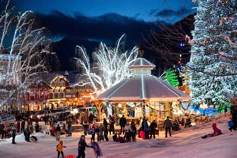 tree lughting seattle market 5 reasons you must experience leavenworth lighting festival