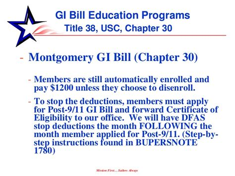 Using A Montgomery Gi Bill For Mba by Post 911 Gi Bill By Barbara Miller