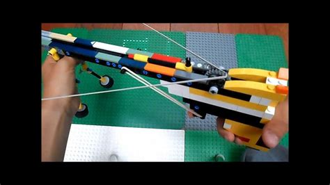 lego crossbow tutorial lego crossbow tutorial youtube