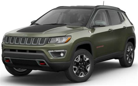 green jeep 2017 2017 jeep compass trailhawk color options