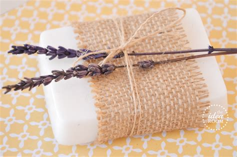How To Wrap Handmade Soap - lavender soap the idea room