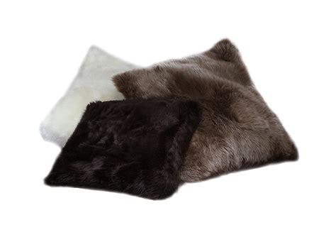 Lambskin Pillow by Fibre By Auskin Tibetan Lambskin Throw Pillows 20 Square