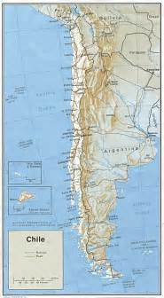 chile south america map large detailed political and administrative map of chile