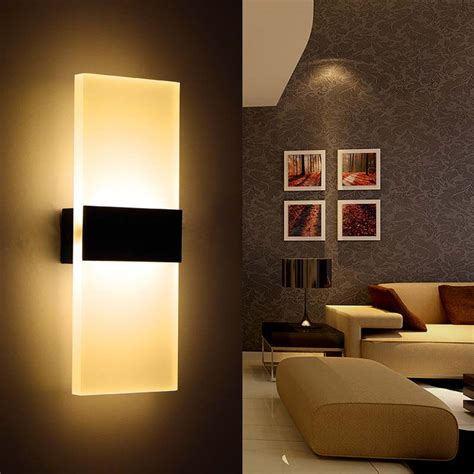 Bedroom Wall Light New Modern Industrial Aluminum Wall Lights Ikea Kitchen Restaurant Living Bedroom Indoor