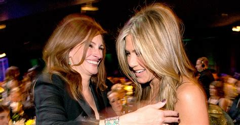 jennifer aniston julia roberts jennifer aniston was intimidated by costar julia roberts