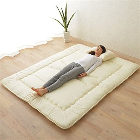 Emoor Cotton Polyester Japanese Traditional Futon Mattress