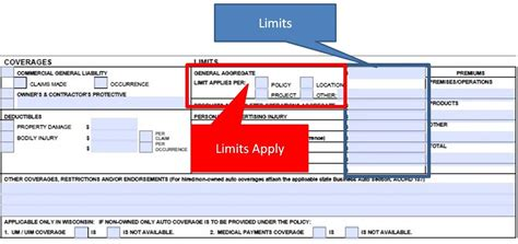 what is section 126 property simply easier acord forms how to complete the acord 126