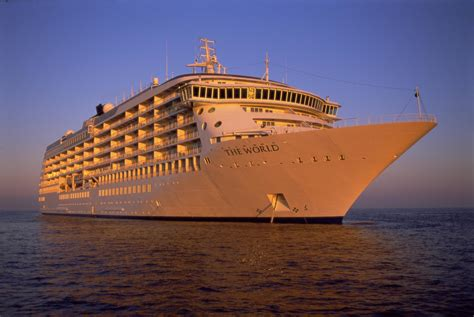 Cruise Ship The World | this residential cruise ship is on a perpetual vacation