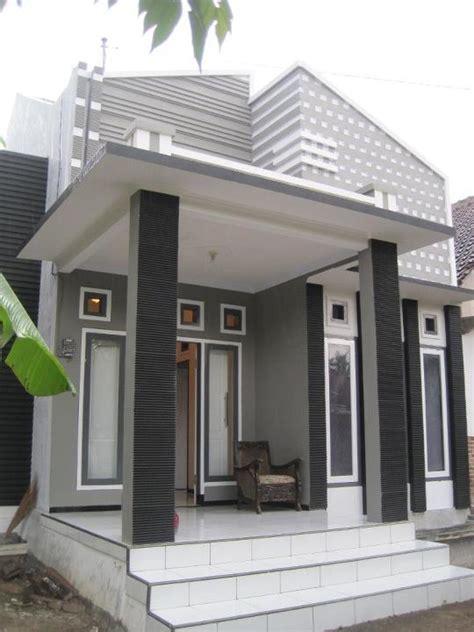 desain rumah minimalis warna hijau