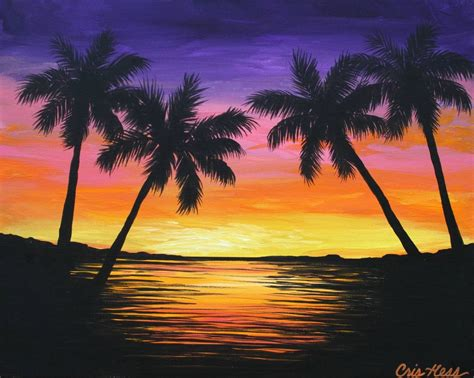easy wallpaper easy sunset painting wallpaper