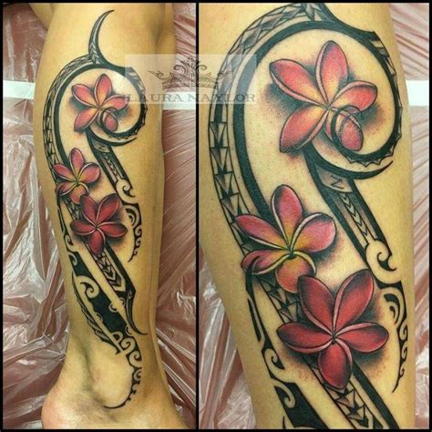samoan tribal leg tattoos by joe ideas