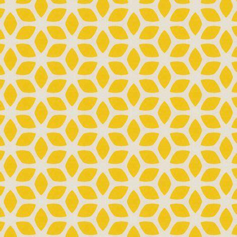geometric pattern yellow butter yellow geometric flowers yellow gold design