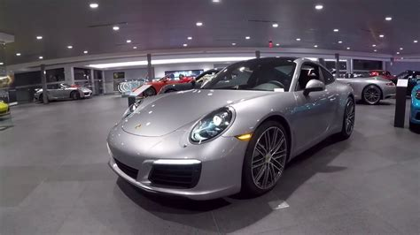 Porsche Silber by 2017 Gt Silver Porsche 911 370 Hp Porsche West