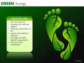 carbon footprint template environmentally conscious powerpoint templates carbon