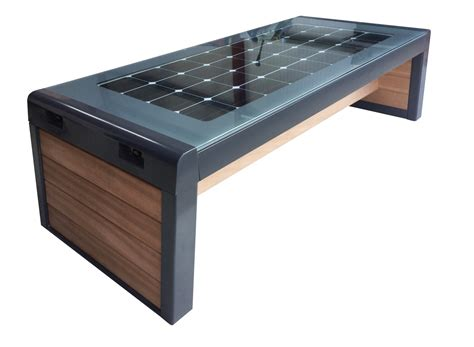solar bench stellar smart bench environmental street furniture