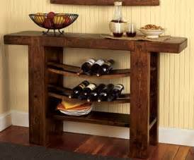 Wine Buffet Table Wine Rack And Buffet Table Diy Me