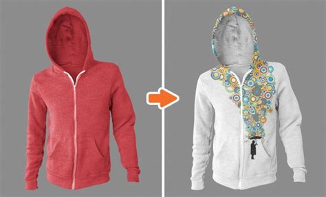 Hoodie Zipper Pimpstar 3 photoshop apparel mockup template essentials collection by go media