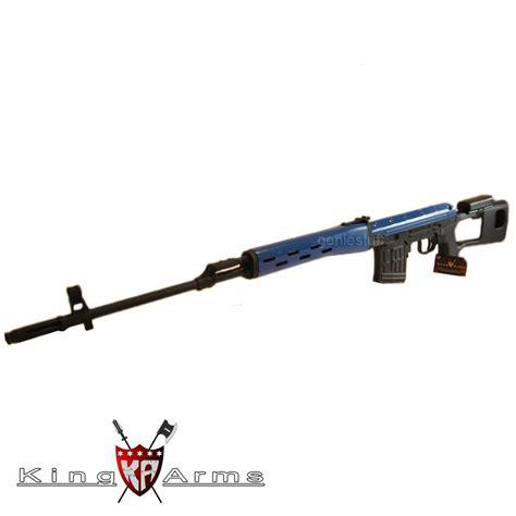 Airsoft Gun Dragunov King Arms Kalashnikov Dragunov Svd Metal Co2 Airsoft Rifle