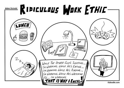 how to make doodle work work ethic iq doodle