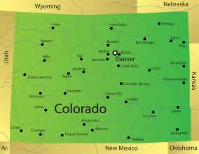 colorado state map with cities and counties colorado map blank political colorado map with cities